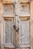 Alte Tür in Bukhara, Usbekistan Lizenzfreies Stockfoto