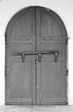 Alte Tür in der asiatischen Art Lizenzfreies Stockbild