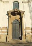 Alte Tür der Basilika Lizenzfreie Stockbilder