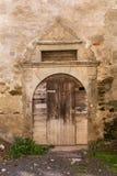 Alte Tür eines Hauses Lizenzfreie Stockfotos