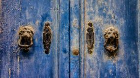 Alte Tür Gozo Lizenzfreie Stockfotos