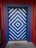 Alte Tür, Litauen Lizenzfreies Stockbild