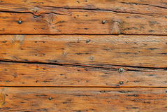 Alte Tür mit einer gestreiften Oberfläche lizenzfreies stockfoto