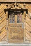 Alte Tür in Ungarn Lizenzfreies Stockfoto