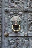 Alte Tür von Bremen-Kathedrale, Deutschland Stockbilder