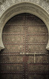 Alte Türen, Marokko Stockfotografie