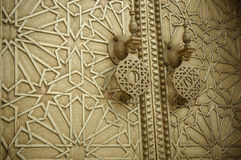 Alte Türen, Marokko Stockfotos