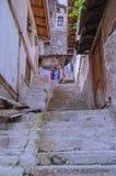 Alte türkische Stadtstraßen Ankara stockbild