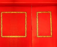 Alte Türszene Stockbild