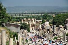 Alte Tage in Efes Stockbilder