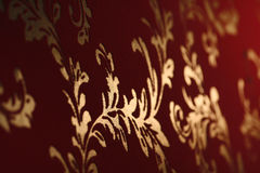Alte Tapeten des Damastes Lizenzfreies Stockbild