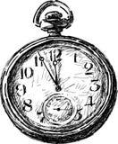 Alte Tasche Uhr Stockfotografie