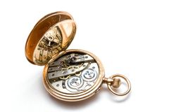 Alte Taschenuhren Stockfoto