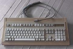 Alte Tastatur Stockbild