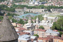 Alte Tbilisi-Kirchen Stockfotografie