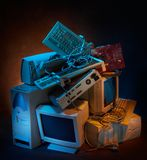 Alte Technologie Lizenzfreies Stockfoto