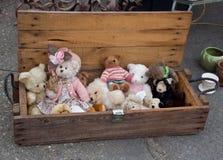 Alte Teddybären Stockbilder