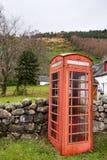 Alte Telefonzelle Stockbild