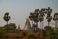 Alte Tempel in Bagan, Myanmar Lizenzfreies Stockfoto