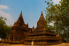 Alte Tempel in Bagan, Myanmar Lizenzfreie Stockfotos