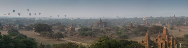 Alte Tempel in Bagan, Myanmar Stockfotografie