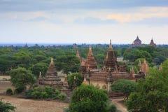Alte Tempel in Bagan Myanmar Stockfoto
