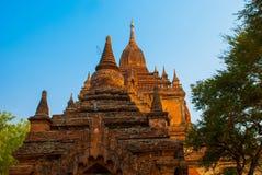 Alte Tempel in Bagan, Myanmar birma Stockfotos
