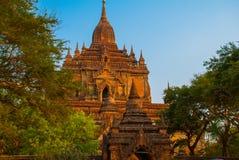 Alte Tempel in Bagan, Myanmar birma Stockfoto