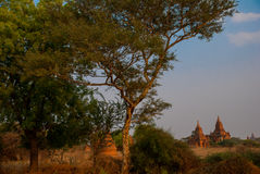 Alte Tempel in Bagan, Myanmar birma Lizenzfreies Stockbild