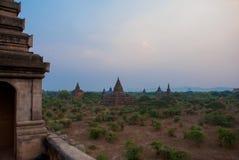 Alte Tempel in Bagan, Myanmar birma Stockbild