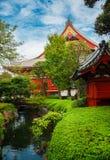 Alte Tempel in Tokyo Lizenzfreies Stockfoto