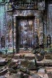 Alte Tempel-Vorhang-Türen Lizenzfreie Stockfotos