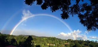 Alte terre dell'arcobaleno Immagine Stock Libera da Diritti