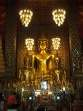 Alte thailändische Kunst antiker Buddha-Statue in Thailand Lizenzfreie Stockbilder