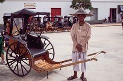 Alte thailändische Leute Stockbild