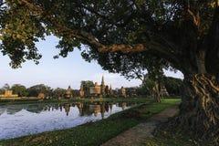 Alte thailändische Geschichte Stockfotografie