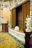 Alte Theaterstufe Stockfoto