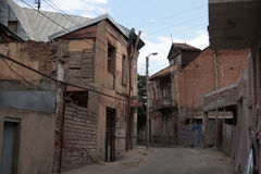 Alte Tiflis-Straßen Lizenzfreies Stockfoto