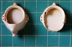 Alte Toiletten 3 Stockbilder