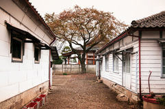 Alte Tomioka-Seidenspinnerei, Takasaki, Gunma, Japan Lizenzfreies Stockbild