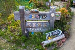 Alte traditionelle japanische Wasser-Mühle Stockfotografie