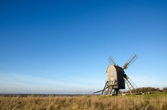 Alte traditionelle Windmühle Lizenzfreies Stockfoto