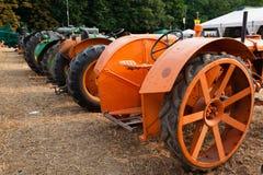 Alte Traktoren Stockbilder