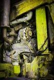 Alte Traktoren der Maschinerie Stockfotos