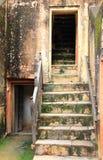 Alte Treppe. Lizenzfreie Stockfotografie