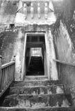 Alte Treppe. Stockbild