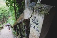 Alte Treppe Stockbild