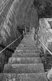 Alte Treppe Stockfoto