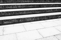 Alte Treppen Stockfoto