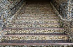 Alte Treppen Lizenzfreies Stockfoto